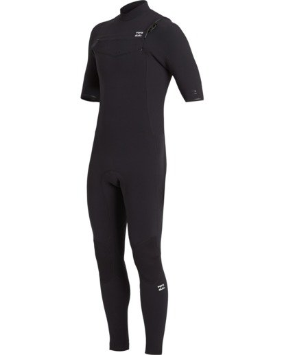 1 2/2 Revolution Pro Chest Zip Wetsuit Black MWFU3BS2 Billabong