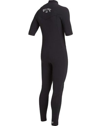 2 2/2 Revolution Pro Chest Zip Wetsuit Black MWFU3BS2 Billabong