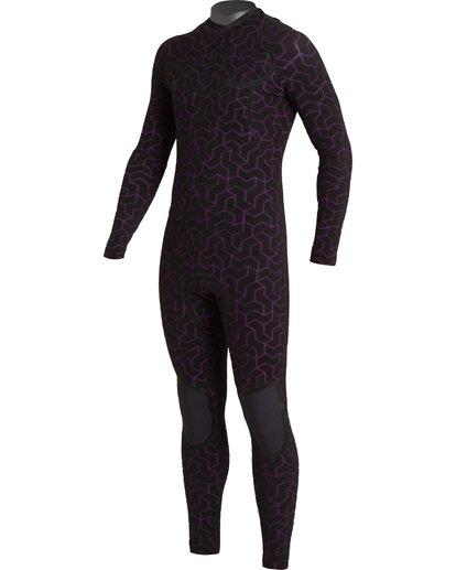 4 3/2 Furnace Chest Zip Wetsuit Black MWFU3BU3 Billabong