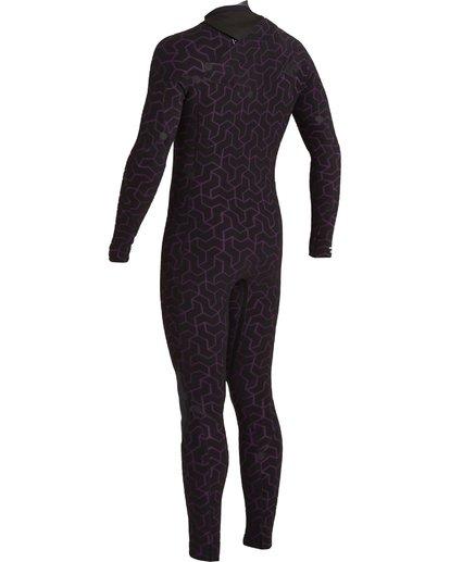 6 3/2 Furnace Chest Zip Wetsuit Black MWFU3BU3 Billabong