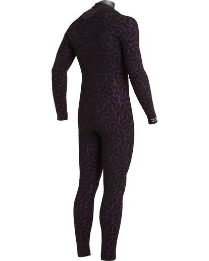 7 3/2 Furnace Chest Zip Wetsuit Black MWFU3BU3 Billabong