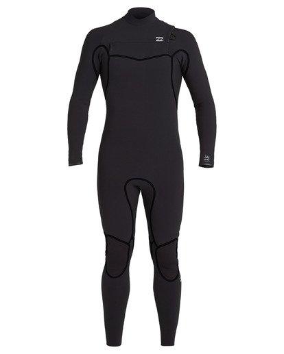 1 3/2 Furnace Chest Zip Wetsuit Black MWFU3BU3 Billabong