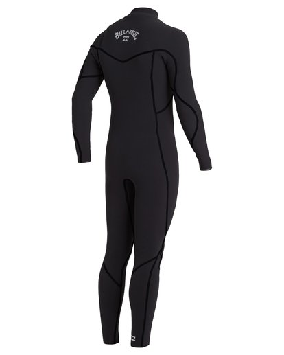 2 3/2 Furnace Chest Zip Wetsuit Black MWFU3BU3 Billabong