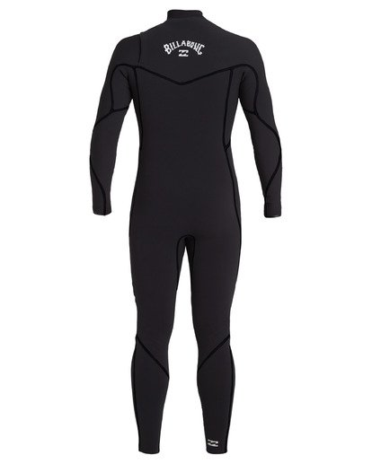 3 4/3 Furnace Chest Zip Wetsuit Black MWFU3BU4 Billabong