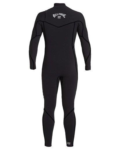 4 4/3 Furnace Chest Zip Wetsuit Black MWFU3BU4 Billabong