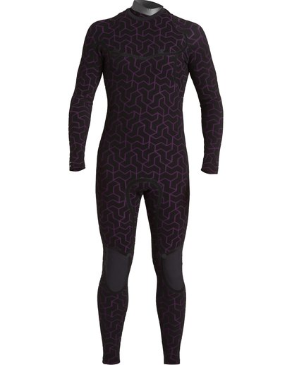 5 4/3 Furnace Chest Zip Wetsuit Black MWFU3BU4 Billabong