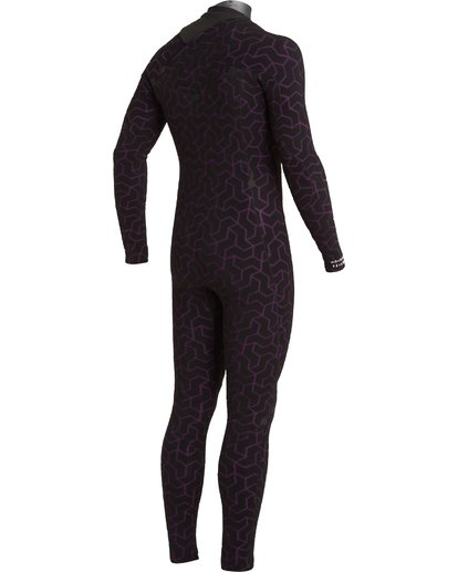 7 4/3 Furnace Chest Zip Wetsuit Black MWFU3BU4 Billabong