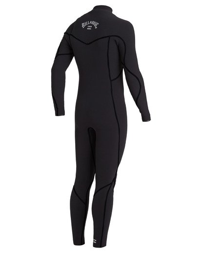 2 4/3 Furnace Chest Zip Wetsuit Black MWFU3BU4 Billabong
