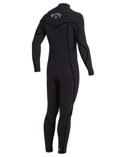 3 4/3 Furnace Chest Zip Wetsuit Black MWFU3BU4 Billabong