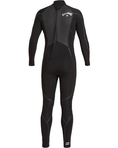 4 4/3 Absolute+ Back Zip Wetsuit Black MWFU3BX4 Billabong
