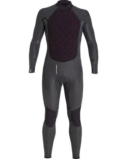 7 4/3 Absolute+ Back Zip Wetsuit Black MWFU3BX4 Billabong