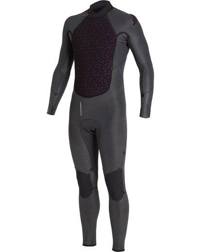 6 4/3 Absolute+ Back Zip Wetsuit Black MWFU3BX4 Billabong