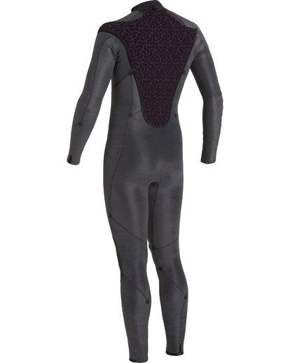 8 4/3 Absolute+ Back Zip Wetsuit Black MWFU3BX4 Billabong