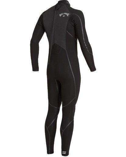 2 4/3 Absolute+ Back Zip Wetsuit Black MWFU3BX4 Billabong
