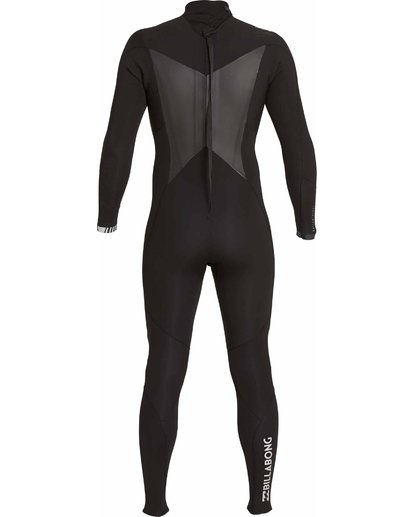 4 504 Absolute Comp Back Zip Fullsuit Black MWFULAB5 Billabong