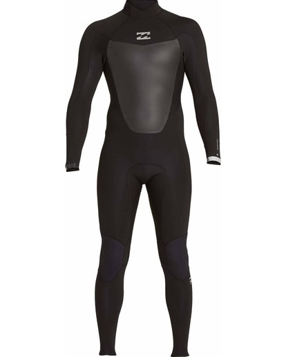 1 504 Absolute Comp Back Zip Fullsuit Black MWFULAB5 Billabong