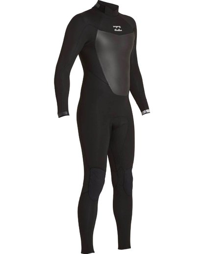 2 504 Absolute Comp Back Zip Fullsuit Black MWFULAB5 Billabong