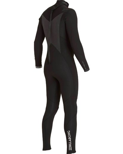 3 504 Absolute Comp Back Zip Fullsuit Black MWFULAB5 Billabong