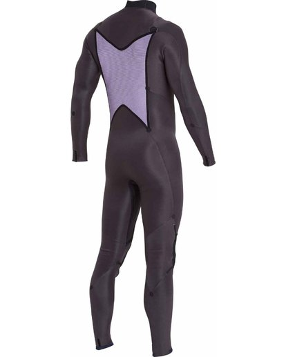 6 4/3 Absolute Comp Chest Zip Fullsuit Black MWFULAC4 Billabong