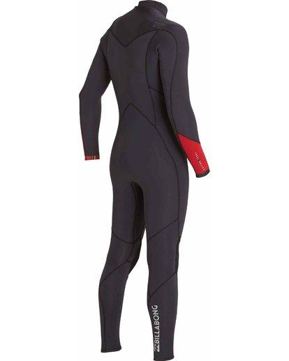 2 4/3 Absolute Comp Chest Zip Fullsuit Black MWFULAC4 Billabong