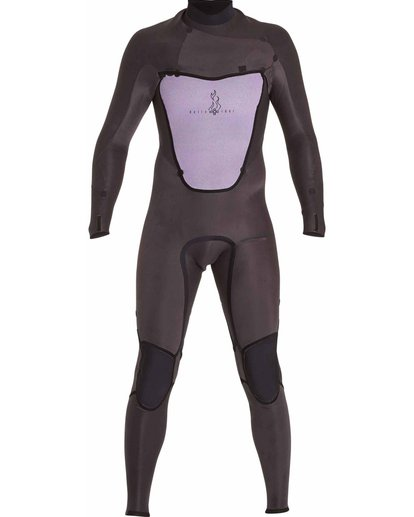 5 403 Absolute Comp Chest Zip Fullsuit Black MWFULAC4 Billabong