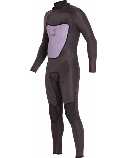 4 403 Absolute Comp Chest Zip Fullsuit Black MWFULAC4 Billabong