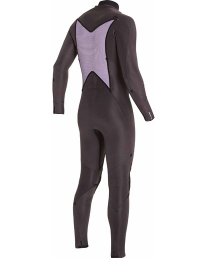 6 403 Absolute Comp Chest Zip Fullsuit Black MWFULAC4 Billabong