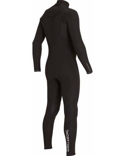 2 403 Absolute Comp Chest Zip Fullsuit Black MWFULAC4 Billabong