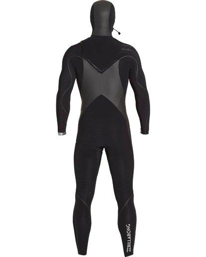 4 5/4 Furnace Carbon X Hooded Chest Zip Fullsuit  MWFULCH5 Billabong