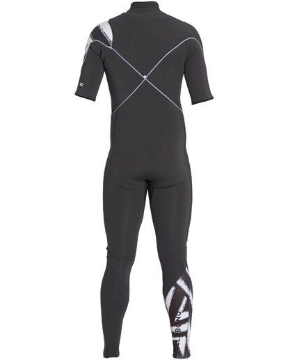 4 202 Furnace Carbon Comp Short Sleeve Fullsuit Black MWFULFC2 Billabong