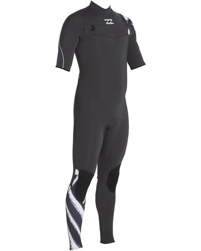 2 202 Furnace Carbon Comp Short Sleeve Fullsuit Black MWFULFC2 Billabong