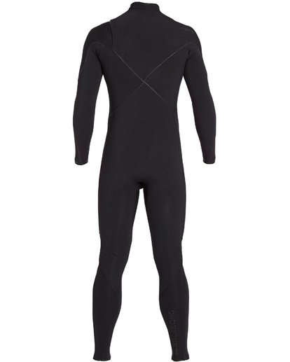 4 3/2 Furnace Carbon Comp Chest Zip Fullsuit Black MWFULFC3 Billabong