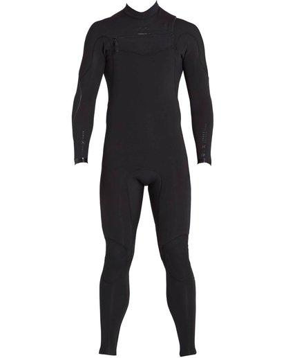 1 3/2 Furnace Carbon Comp Chest Zip Fullsuit Black MWFULFC3 Billabong