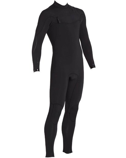 2 3/2 Furnace Carbon Comp Chest Zip Fullsuit Black MWFULFC3 Billabong