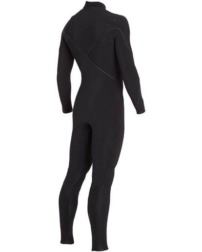 3 3/2 Furnace Carbon Comp Chest Zip Fullsuit Black MWFULFC3 Billabong