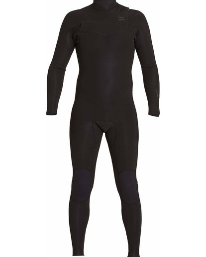 1 302 Revolution Tribong Chest Zip Fullsuit Black MWFULRC3 Billabong