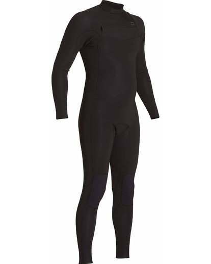2 302 Revolution Tribong Chest Zip Fullsuit Black MWFULRC3 Billabong