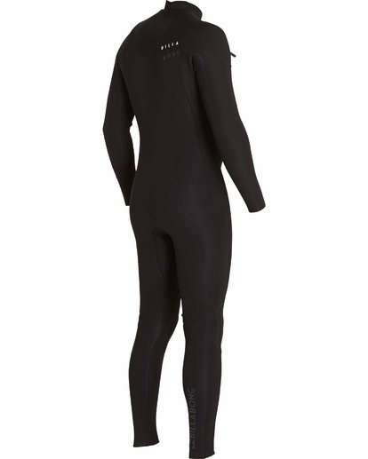 3 302 Revolution Tribong Chest Zip Fullsuit Black MWFULRC3 Billabong