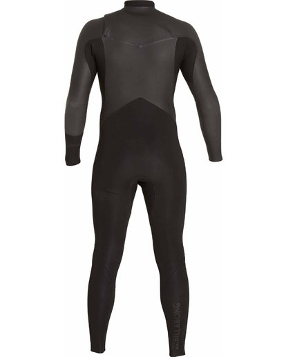 4 302 Revolution Glide Chest Zip Fullsuit Black MWFULRG3 Billabong