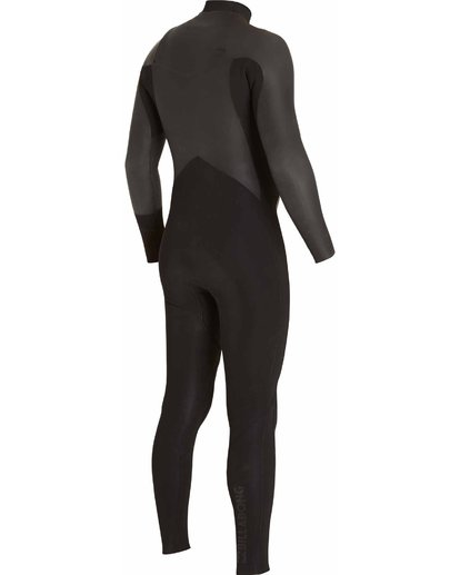 3 302 Revolution Glide Chest Zip Fullsuit Black MWFULRG3 Billabong