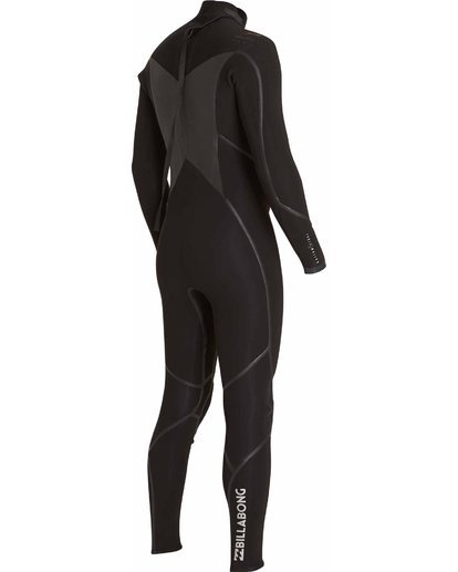 3 3/2 Absolute X Back Zip Fullsuit Black MWFULXB3 Billabong