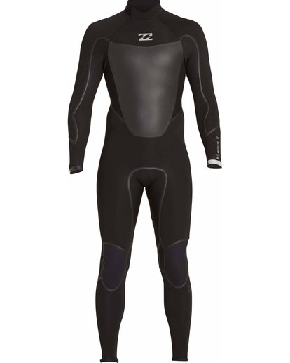1 4/3 Absolute X Back Zip Fullsuit Black MWFULXB4 Billabong