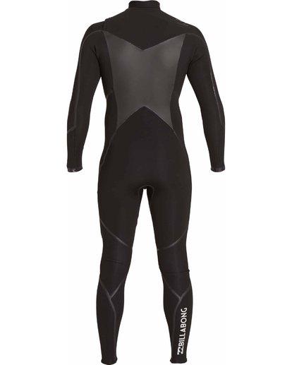 4 3/2 Absolute X Chest Zip Fullsuit Black MWFULXC3 Billabong