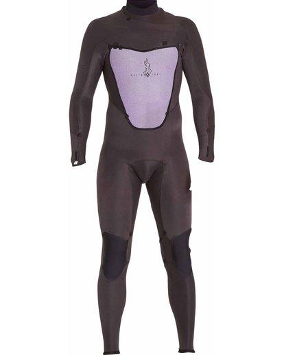 6 3/2 Absolute X Chest Zip Fullsuit Black MWFULXC3 Billabong