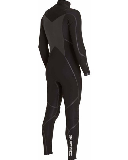 3 3/2 Absolute X Chest Zip Fullsuit Black MWFULXC3 Billabong