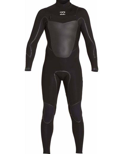 1 403 Absolute X Chest Zip Fullsuit Black MWFULXC4 Billabong