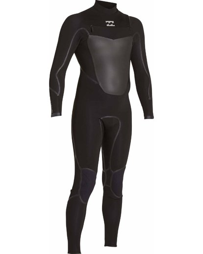 2 403 Absolute X Chest Zip Fullsuit Black MWFULXC4 Billabong