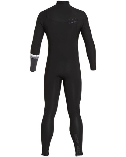 4 302 Revolution DBah Chest Zip Fullsuit Black MWFUNBR3 Billabong