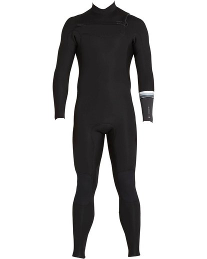 1 302 Revolution DBah Chest Zip Fullsuit Black MWFUNBR3 Billabong