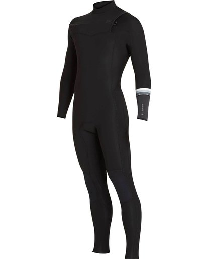 0 302 Revolution DBah Chest Zip Fullsuit Black MWFUNBR3 Billabong